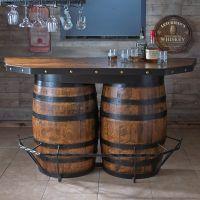 Tennessee Whiskey Barrel Bar | Barrels, Bar and Men cave