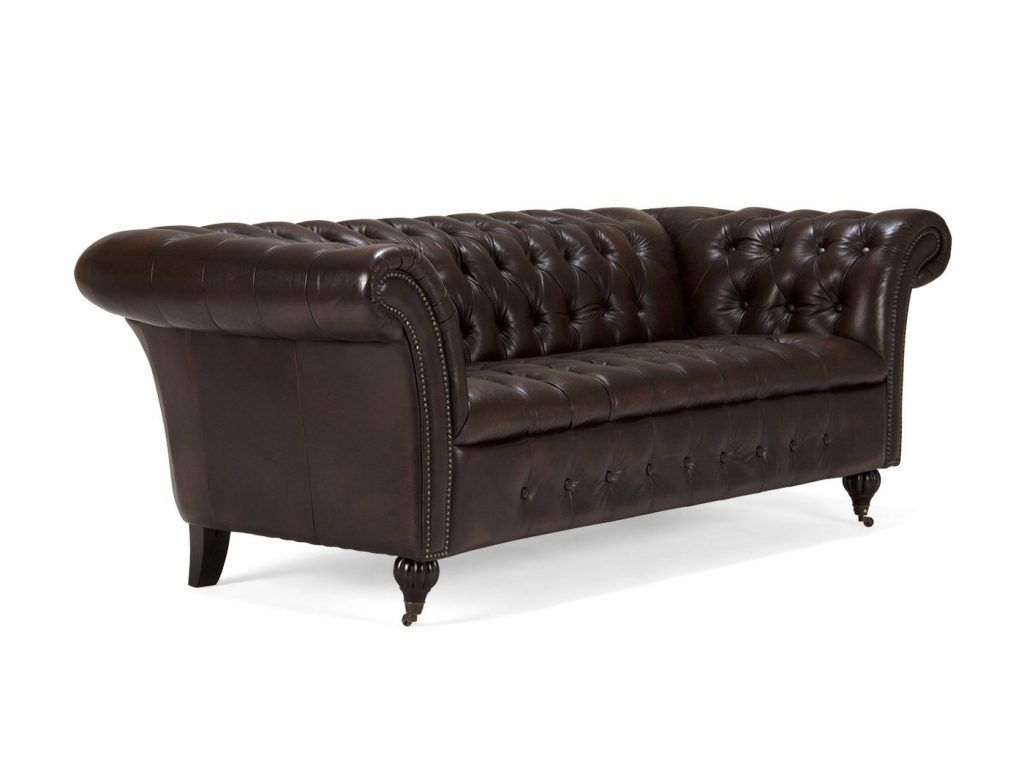 Chesterfield Sofa Riess Ambiente Massivum Massivum Sofa Aus Echtleder Chesterfield Braun