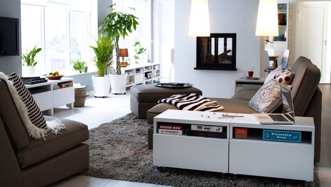 IKEA Österreich, Inspiration, Wohnzimmer, KIVIK Sitzelemente - ikea wohnzimmer weis