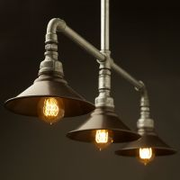 Plumbing Pipe Lights wall and pendant | Luci | Pinterest ...