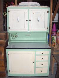 RARE Antique Vintage Hoosier Kitchen Cabinet Cupboard ...