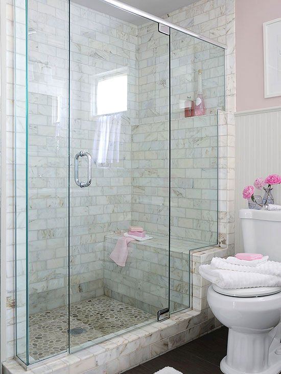 Absolutely Stunning Walk-In Showers for Small Baths Shower - shower ideas for small bathroom