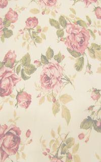 muted beige and rose petal pink floral design | Patterns ...