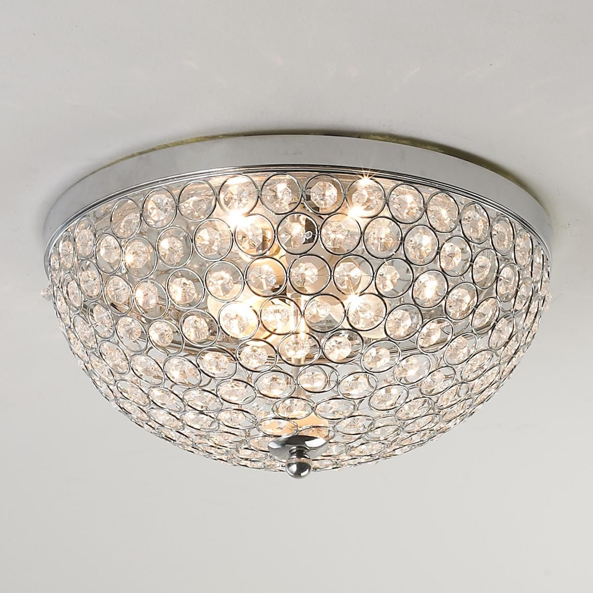 Cieling Lights Crystal Jewel Ceiling Light Flush Mount Ceiling Circles