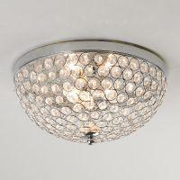 Crystal Jewel Ceiling Light | Flush mount ceiling, Circles ...