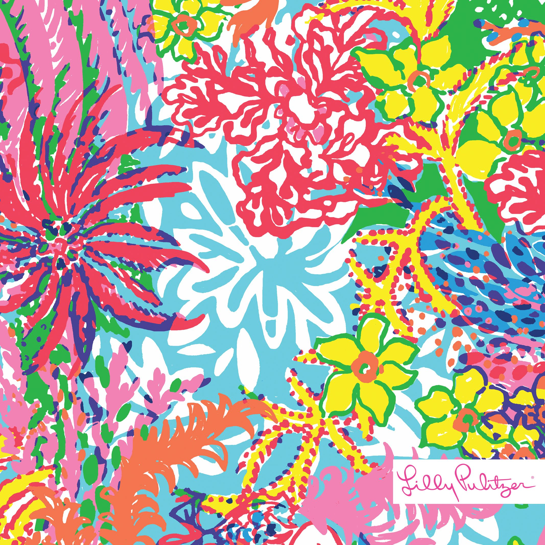 Fall Southern Prep Wallpapers Lilly Pulitzer Fishing For Compliments Print Printed