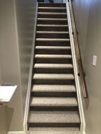 Closed stairs, carpet and wood risers | Ottawa Empire ...