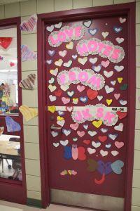 Classroom Door Decorations For Valentines Day Valentines ...