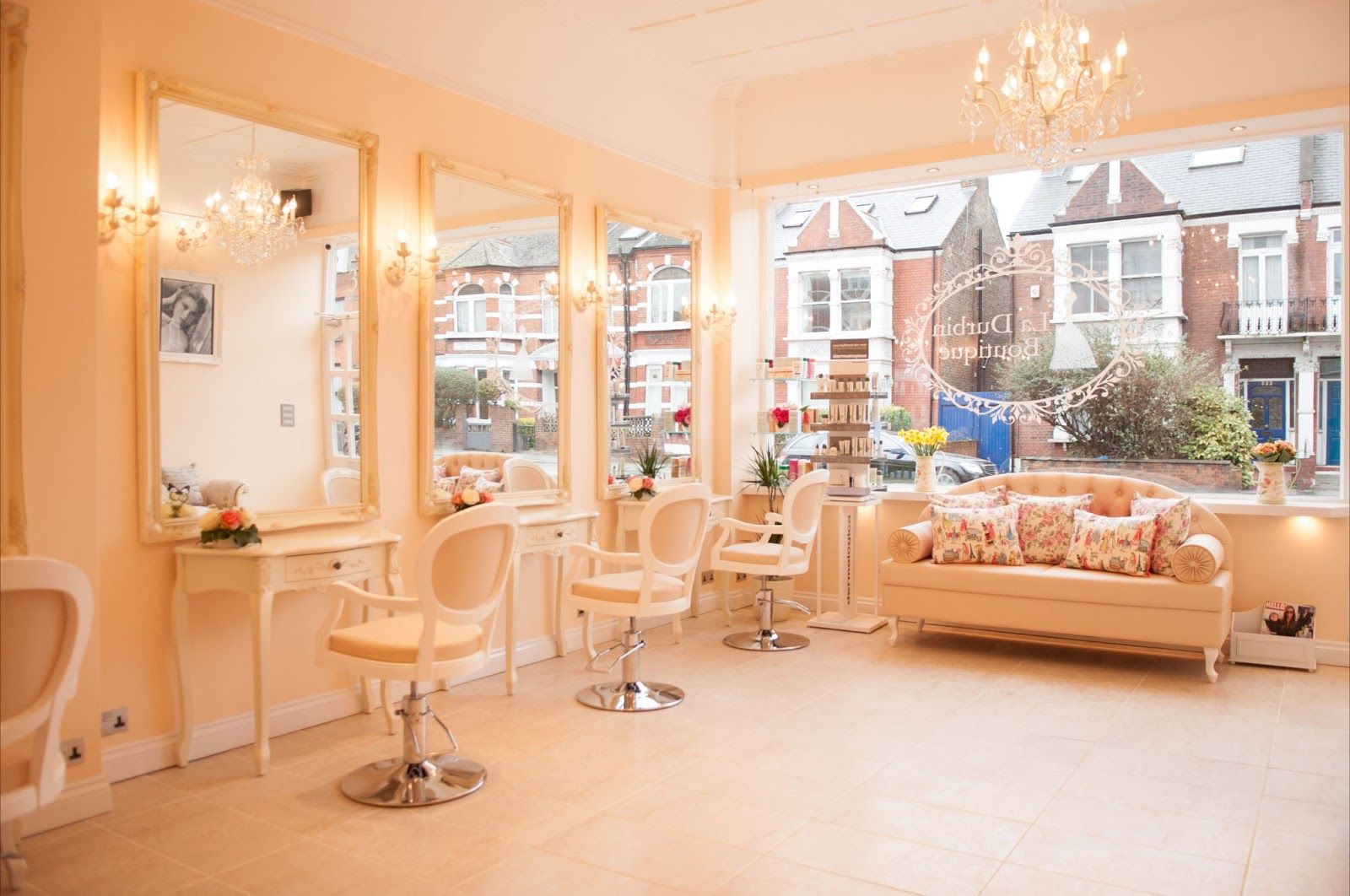 Salon Shabby Chic Southwestsix Boutique Beauty By Bishops Park