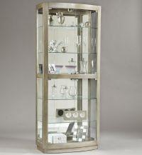 Pulaski Furniture Curios Platinum Curio Cabinet - Darvin ...