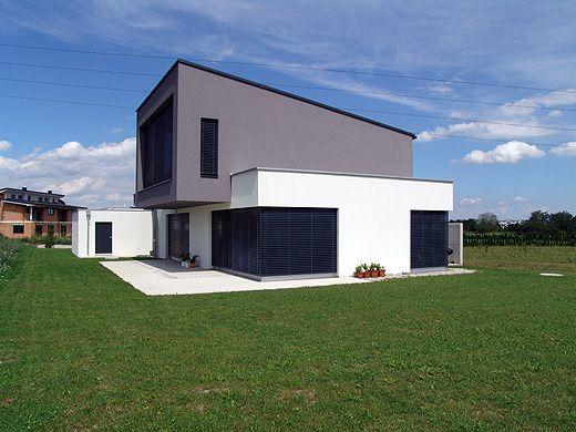 ... Haus Aussen Modern Homes Pinterest Anthrazit, Sehen Und Aussen    Fassadenfarbe Haus ...