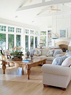 Lovely Living Rooms Sunroom, Living rooms and Room - living room windows