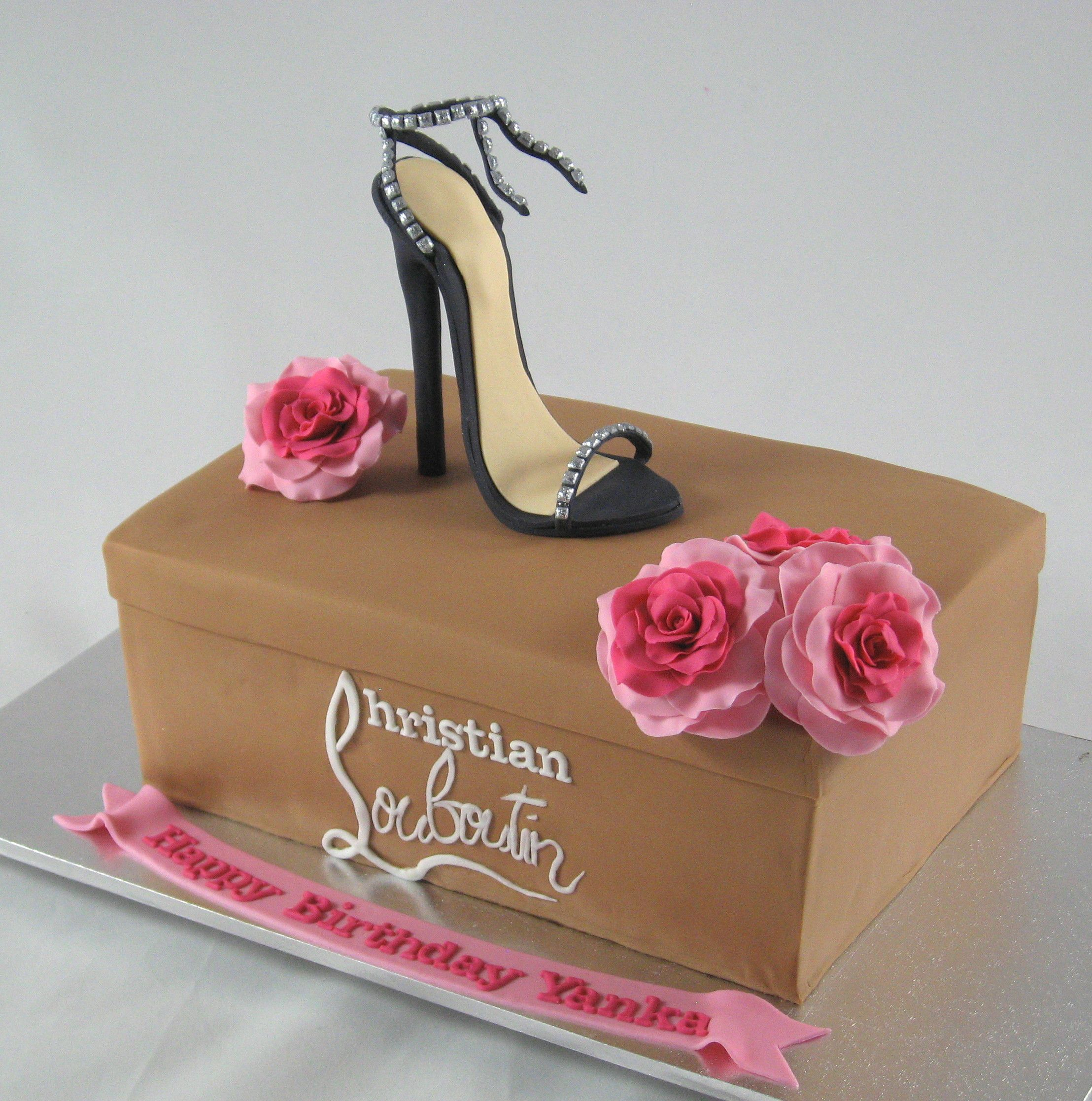 Shoe Box Australia Christian Louboutin Stiletto Shoe And Shoe Box Cake By Www
