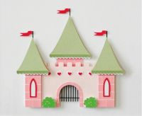 Castle Fairy Tale Decor Kids Wall Decor Princess Theme ...