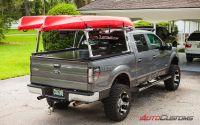 Canoe Racks For Trucks With Tonneau Covers. BAKFlip CS