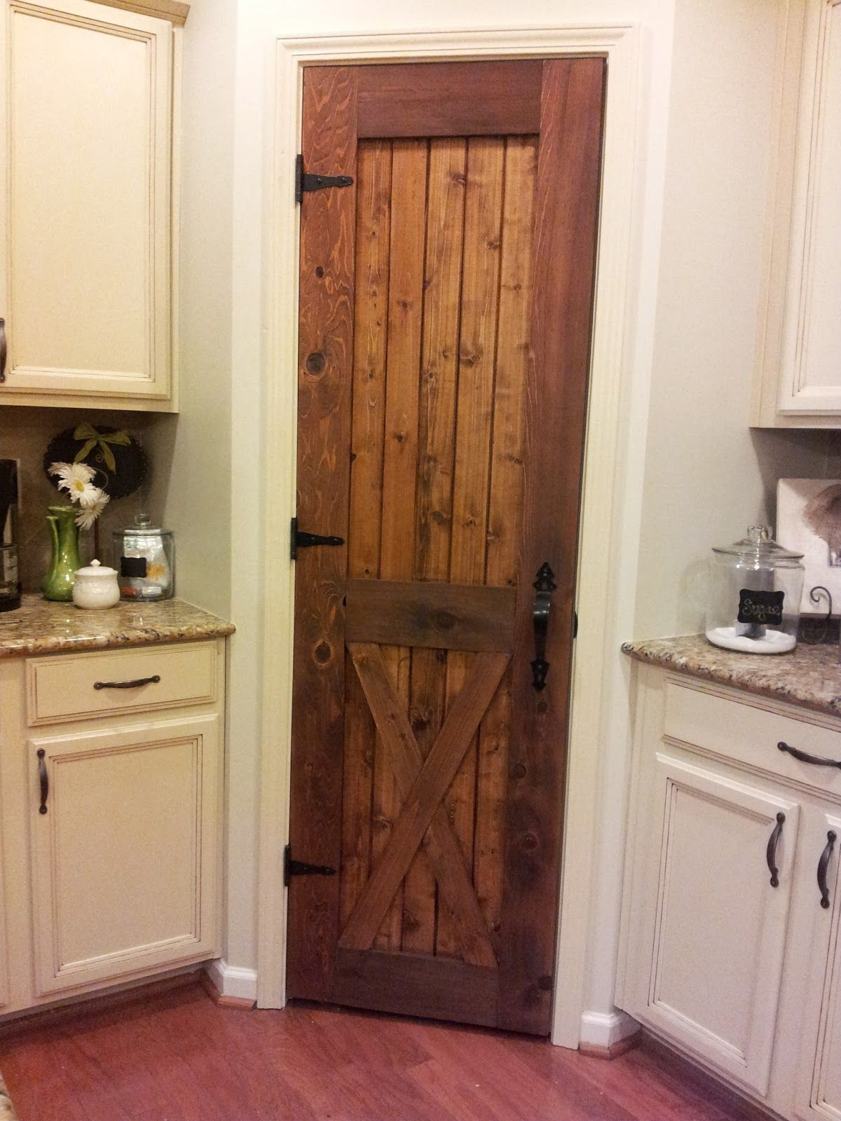 Barn Board Kitchen Cabinets Rustic Pantry Door On Pinterest Pantry Doors Cultured