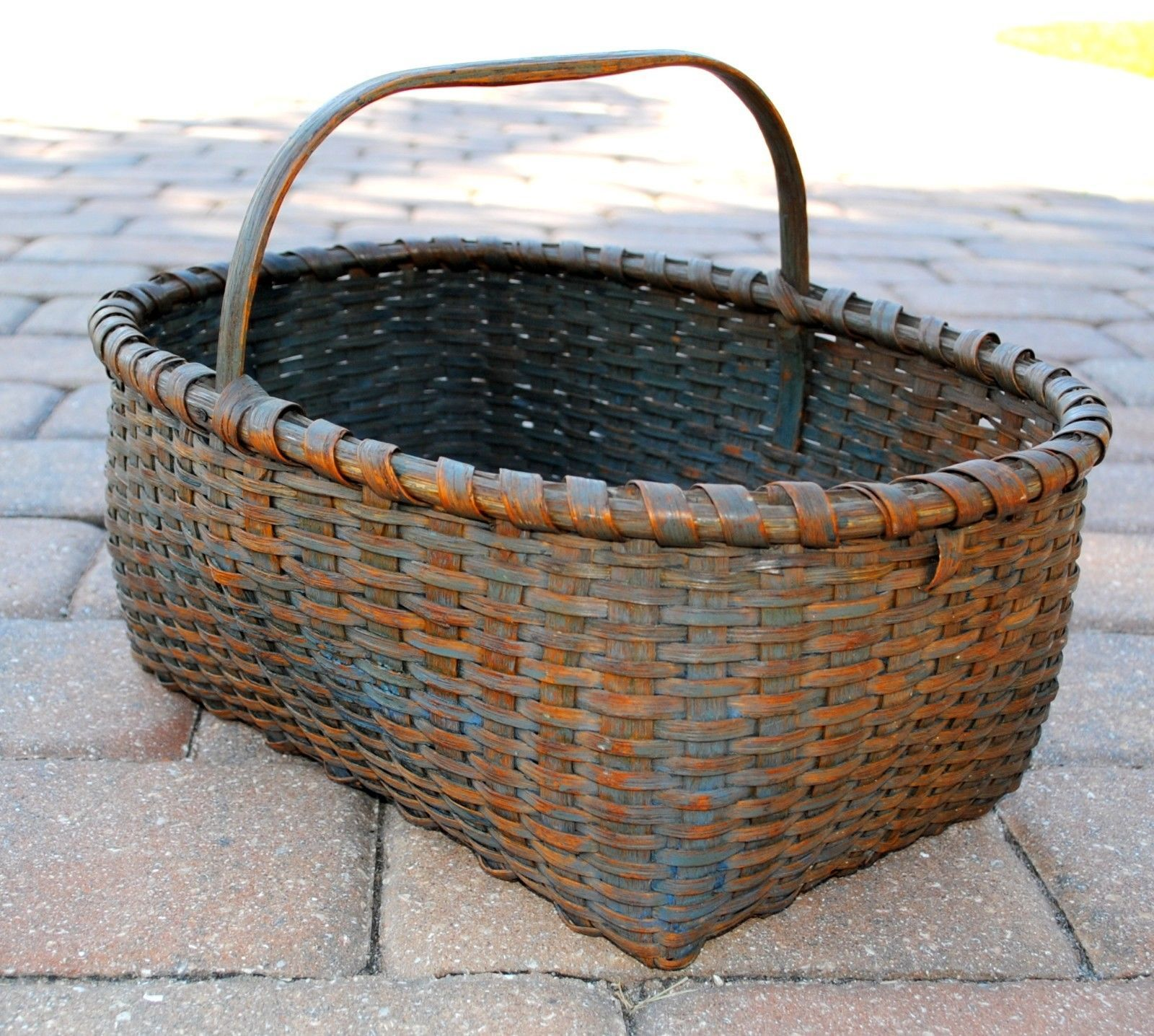 Fancy Baskets Scarce Antique Shaker Fancy Fruit Basket With Original