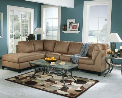 brown and Blue Living Room The Best Living Room Paint Color - living room paint colors ideas