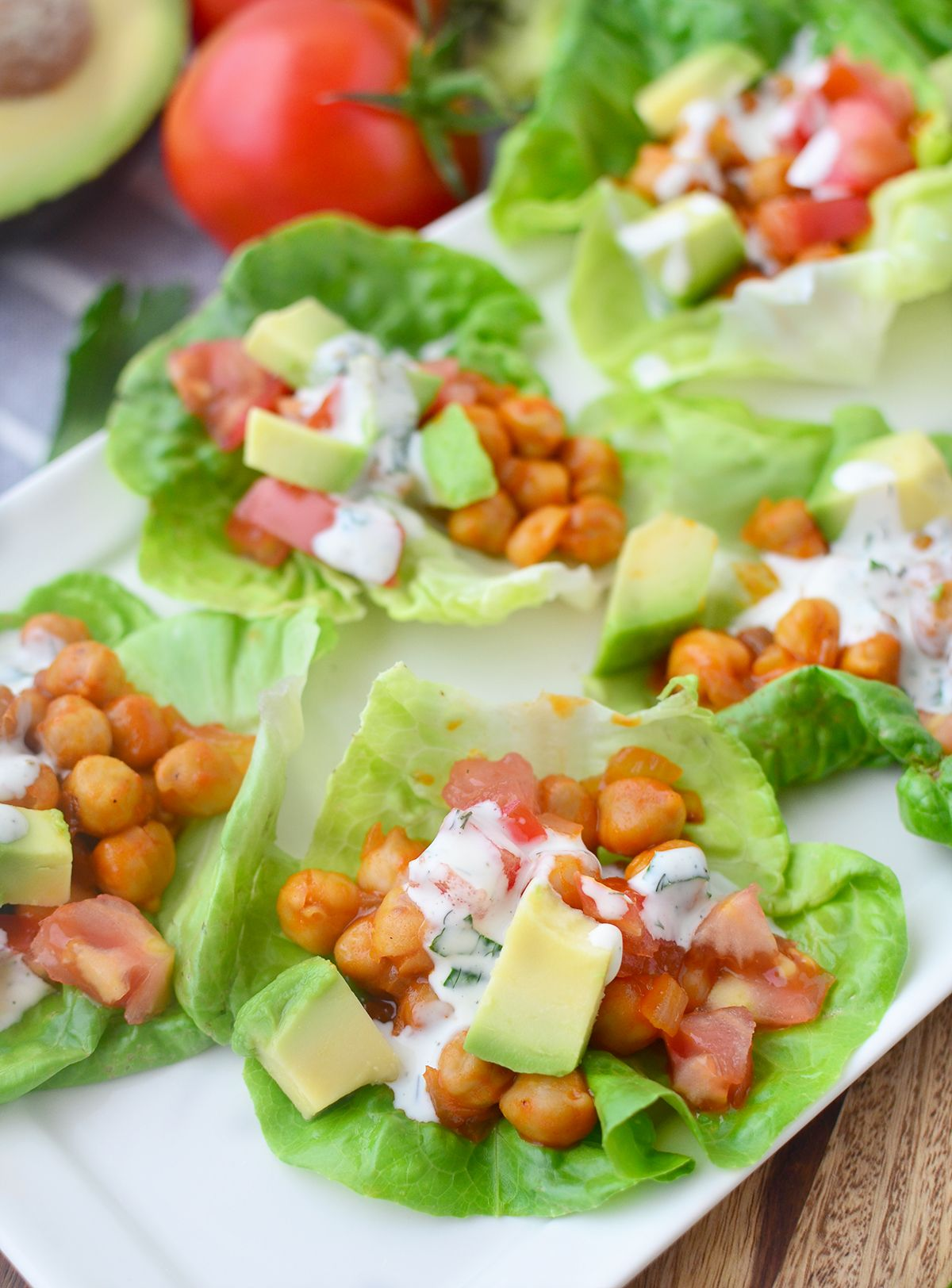 Wraps Vegan Buffalo Chickpea Lettuce Wraps You Are Going To Love