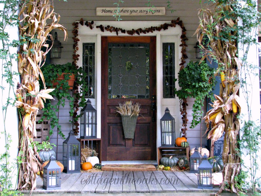 Sommerliche Deko Best 25 43 Fall Front Porches Ideas On Pinterest Fall
