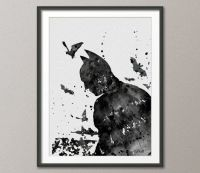Batman Watercolor Painting Print 8x10 Archival Fine Art ...