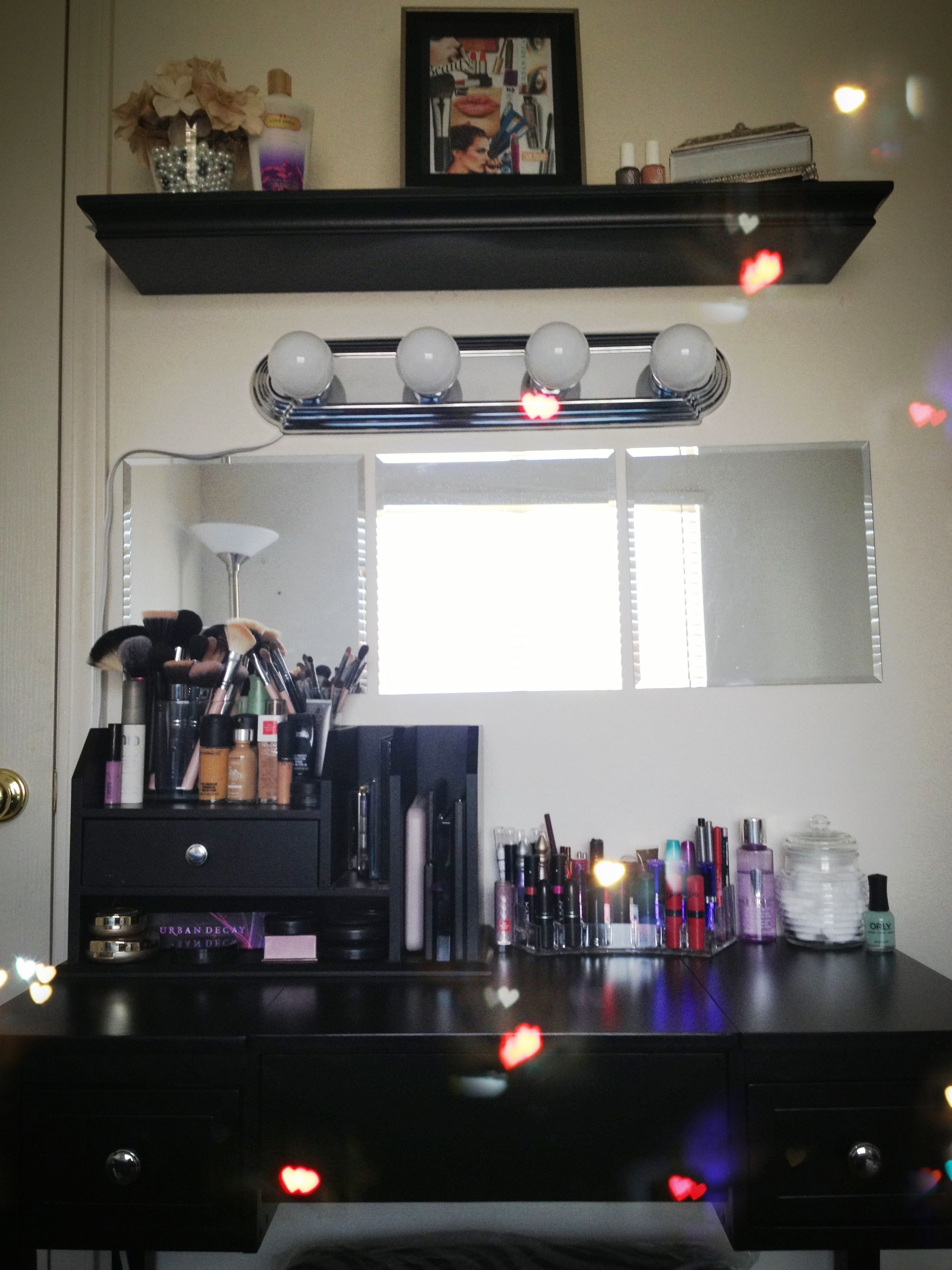 Diy Vanity Area Diy Vanity Area Love Love Loveeeee Vanity Table Is From