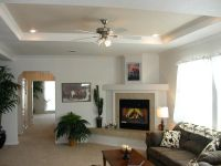 family room tray ceiling decorating ideas - Google Search ...