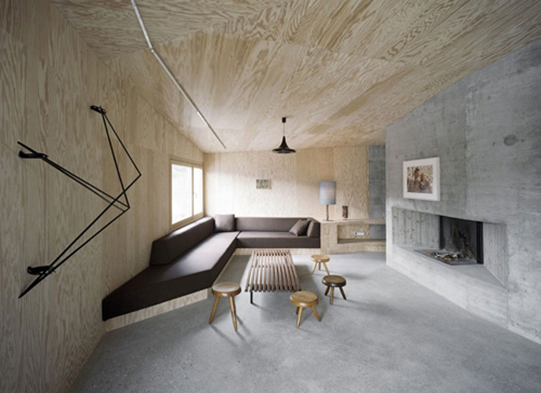 Concrete House Interior Solid Concrete House Architecture And Minimalist Interior