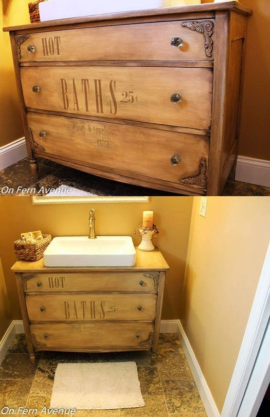 A Guide To Turning A Dresser Into A Vanity Top Drawer