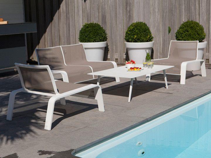 Großartig Lounge Set Block Wit Tuinmeubel Collectie LIFE Outdoor Living   Lounge  Gartenmobel Paola Lenti