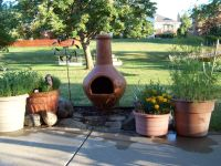 Our new chiminea fire pit   Light My Fire!   Pinterest ...