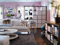 Wohnzimmer Design Ideen IKEA raumteiler schrank | Ikea ...