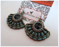DIY: Fan Earrings ~ Seed Bead Tutorials | Seed Bead ...