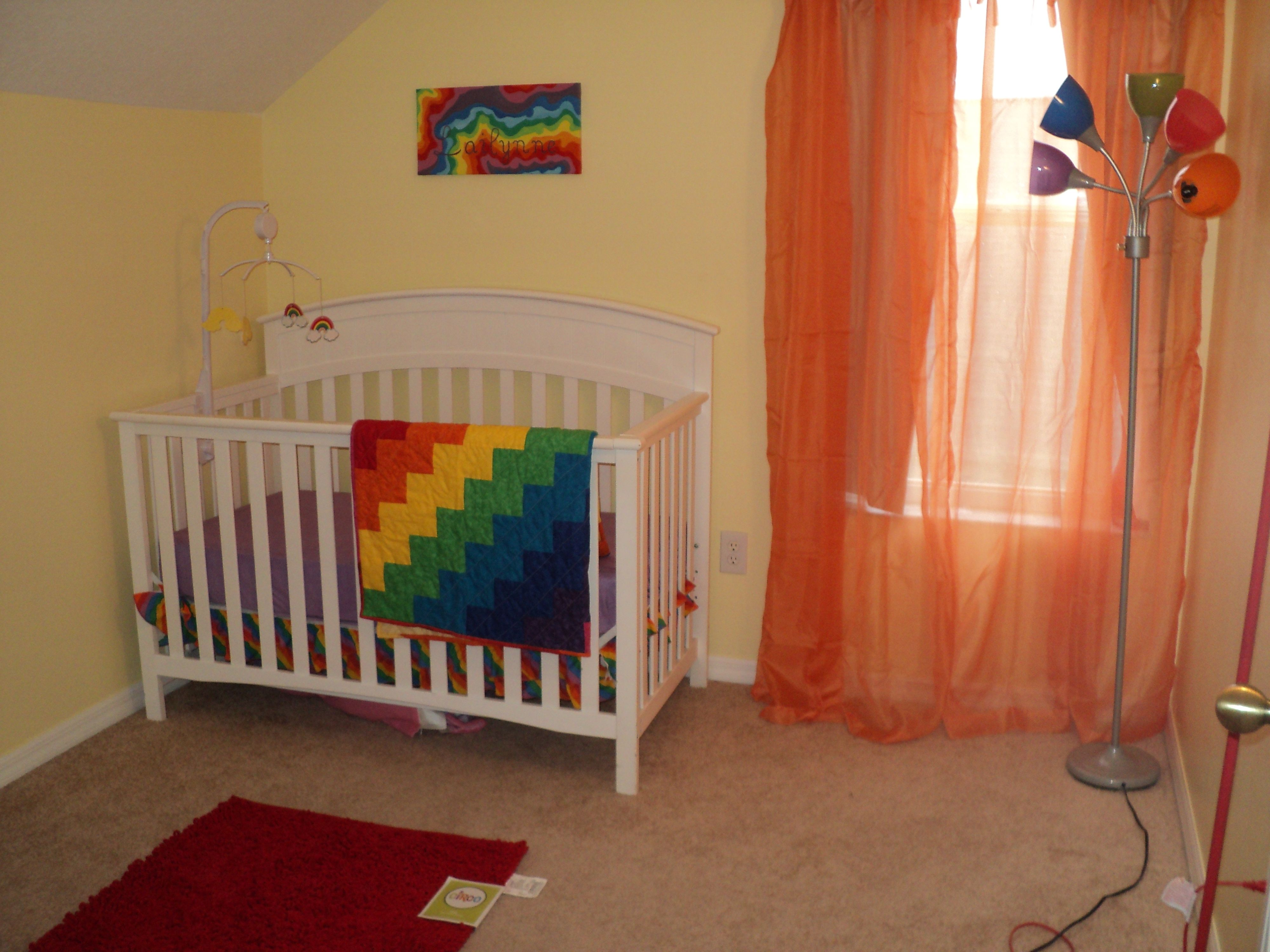 Rainbow Kids Rooms Best 25 43 Rainbow Baby Nurseries Ideas On Pinterest