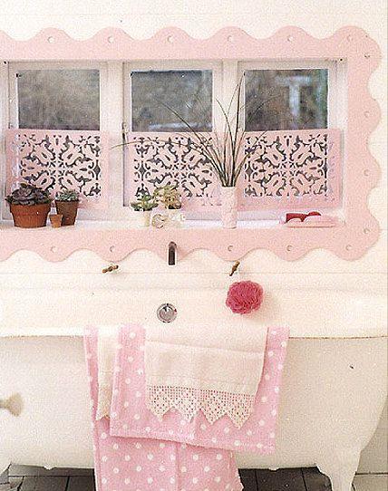 Pretty Pink Shabby Chic Bathroom pink home decorate bathroom - shabby chic bathroom ideas