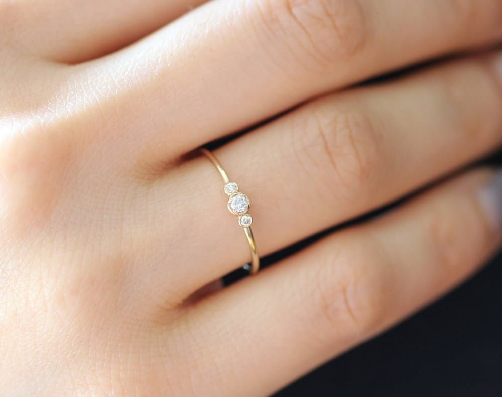 alternative engagement rings wedding rings pictures 15 Beautiful Budget Friendly Alternative Engagement Rings