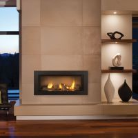 zero clearance gas fireplace - Google Search   Modern ...