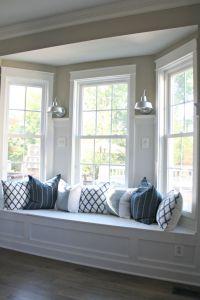 bay window seat | Living room | Pinterest | Window ...
