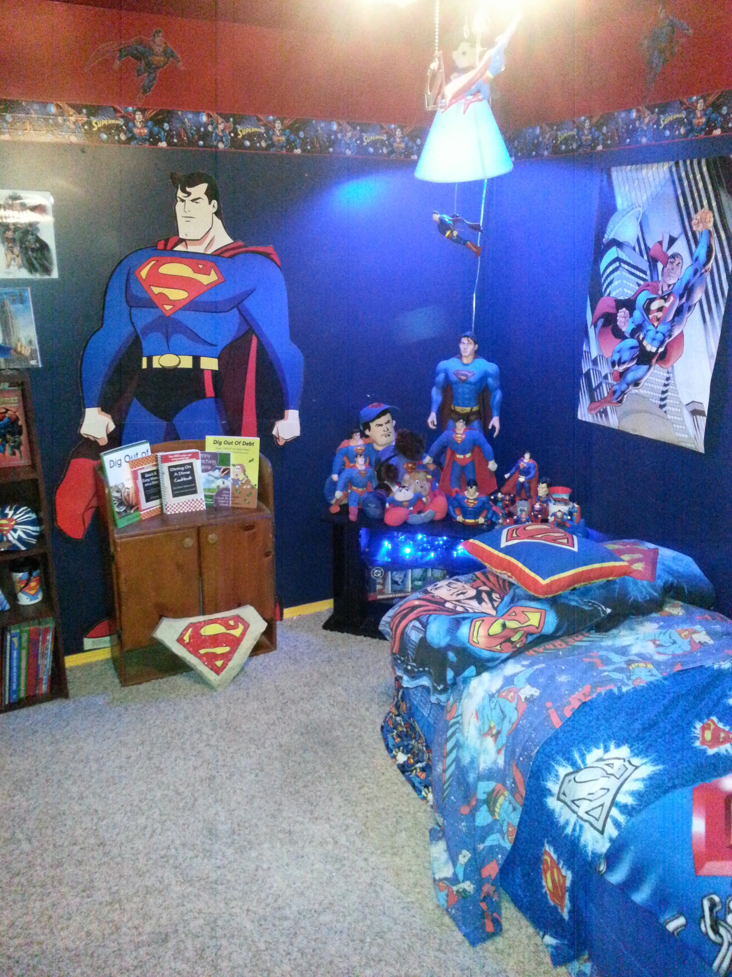 Superman Room Ideas Superman Room Decorate Pinterest Superman Room Room
