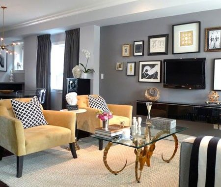 Photo Gallery Vote For Your Favourite H\H Living Room Grey - gray and gold living room