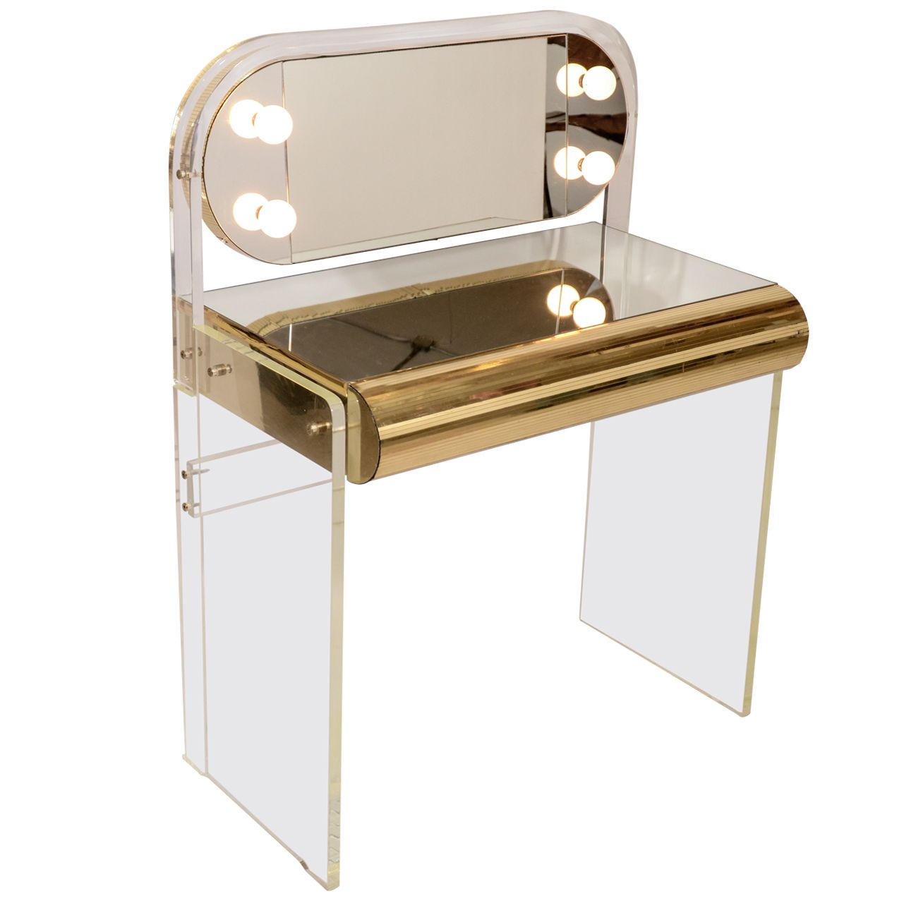 Lucite Vanity Chair Lucite Vanity Table Vanity Tables Vanities And Modern