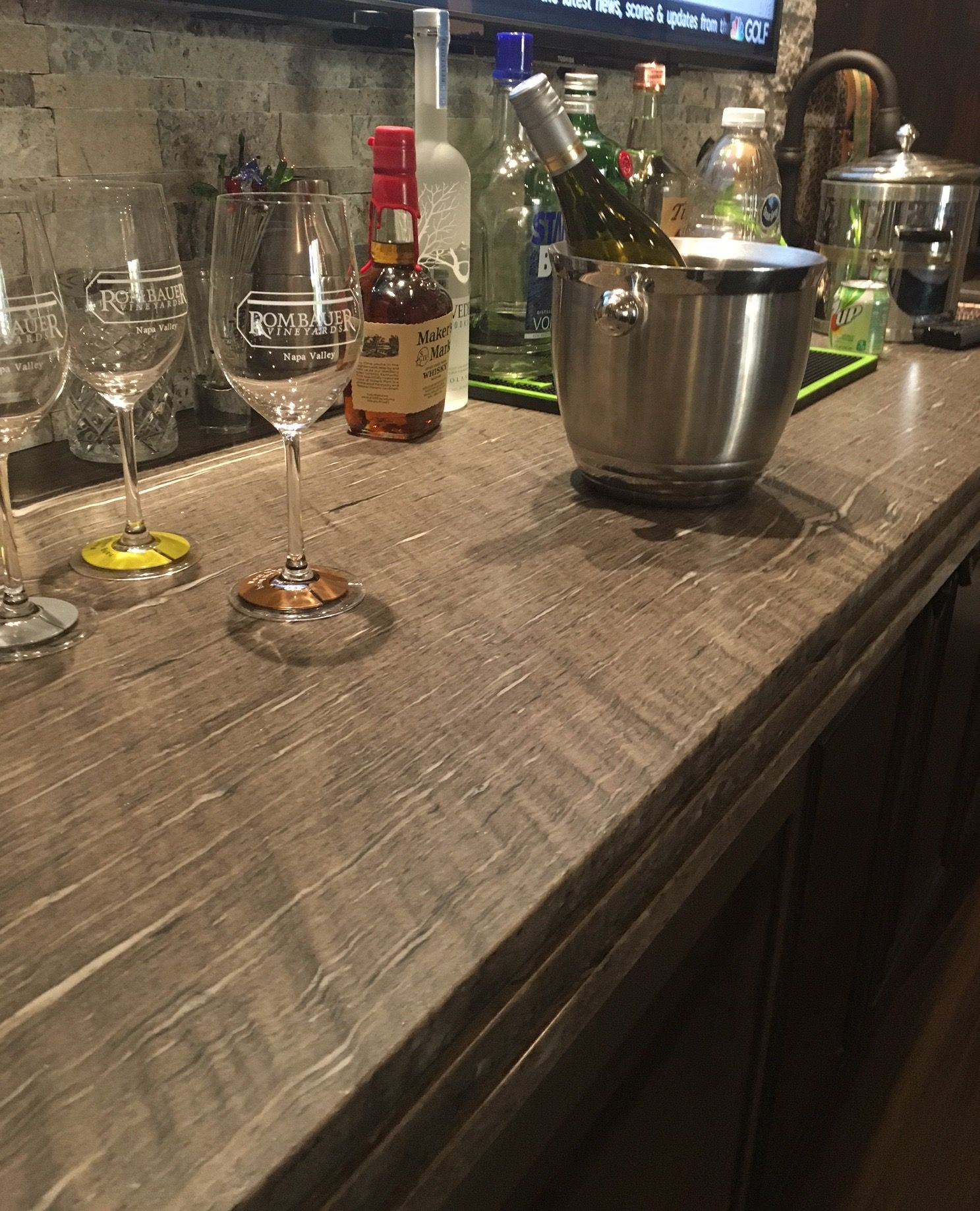 Its 5 o clock somewhere and this meteor shower granite is ready for a party