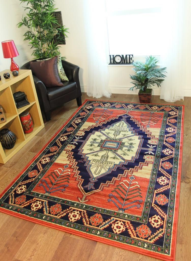 Aztec Tribal Traditional Modern Rugs Small Medium Large XL Mats - inexpensive rugs for living room