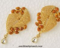 Designer Gold earrings | Designers, Gold and Jewelry model