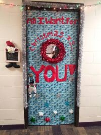 christmas dorm door decorations