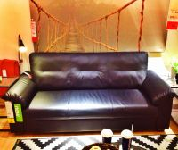 """Ikea Knislinge """"leather"""" couch $299.00   Interior and ..."""