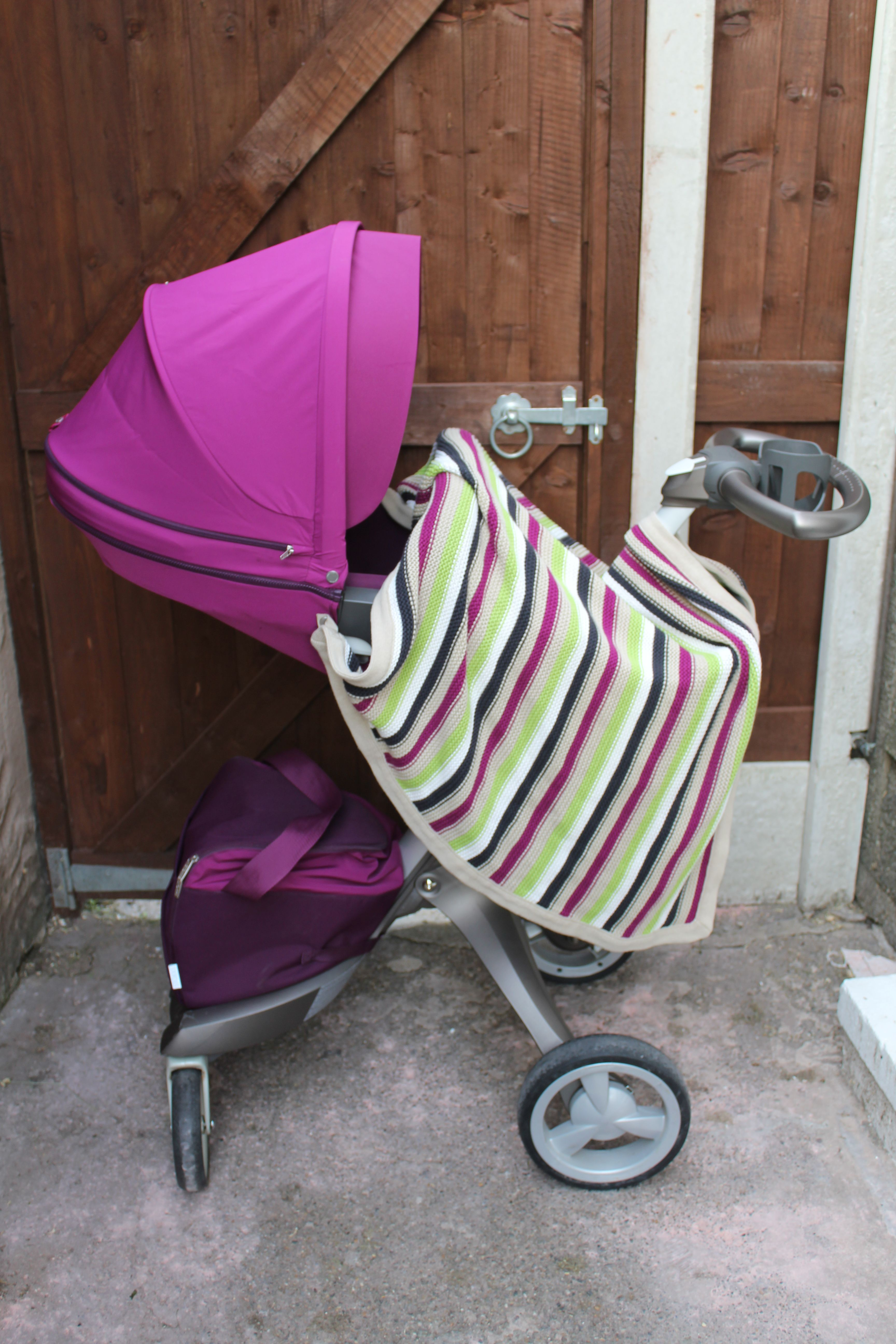 Silla Stokke Xplory Stokke Xplory With Purple Style Kit Textiles And The Green
