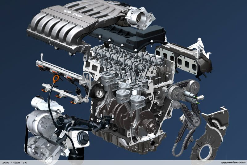 2006 vw touareg engine diagram