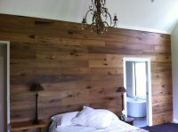 Engineered Wood Flooring used on the Wall - French Oak ...
