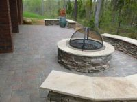 Patio Chimney Fire Pit | Fire Pit | Pinterest | Patios and ...